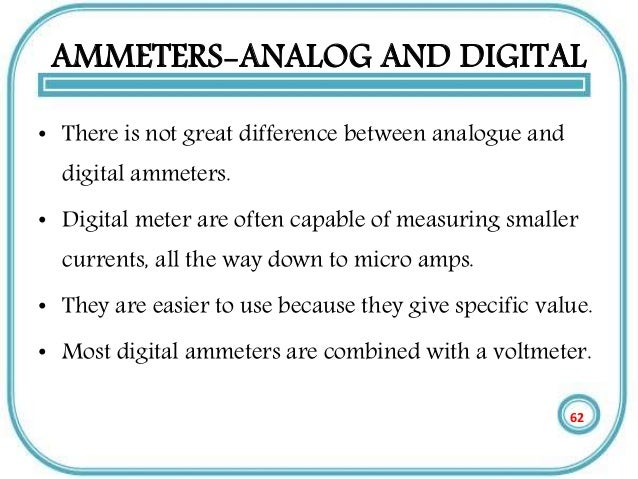 a comparison of digital and analog Introduction to digital photography: differences between analogue and digital introduction to digital photography: differences between analogue and on this basis, the sensor in a digital camera is also analog.