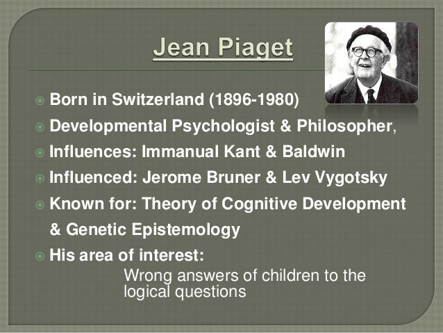 presentation on jean piaget by abdullah saleem and sheraz