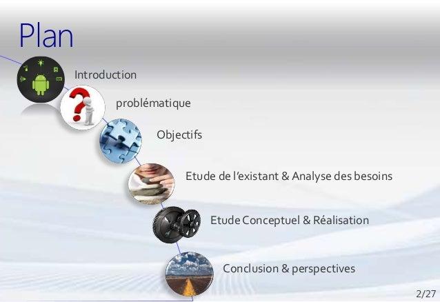 Ma présentation PFE : Application Android & Site Web Slide 2
