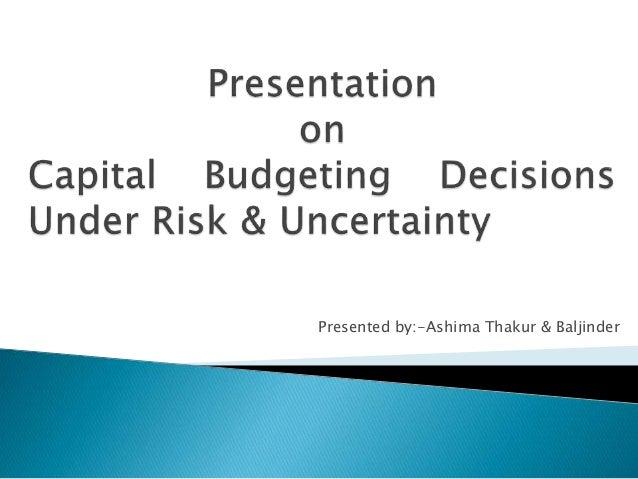 Presented by:-Ashima Thakur & Baljinder