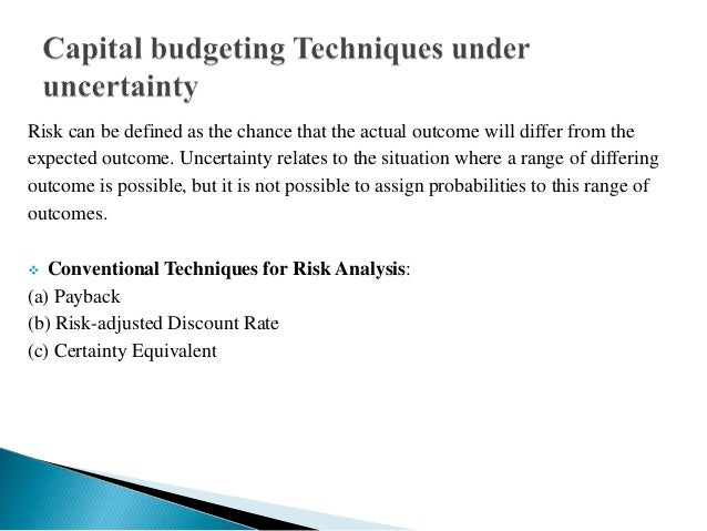 Presentation on capital budgeting Slide 3