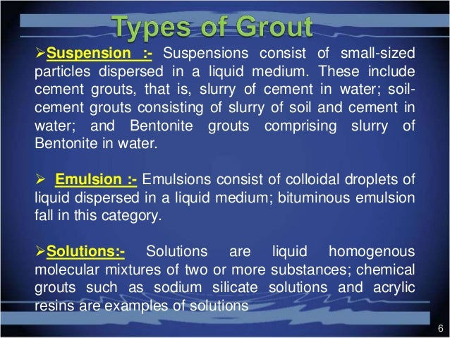 Grouting In Soils
