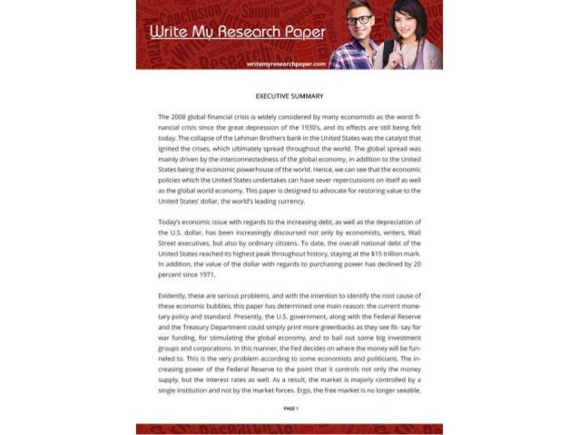 Outstanding Write My Research Paper Experts