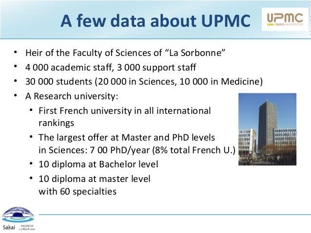 Sakai strategy at UPMC-Paris 6Presentation