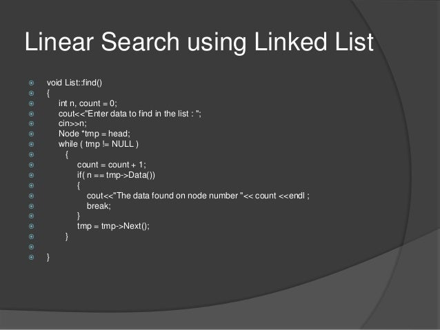 Linear Search and Binary Search - Cprogramming.com