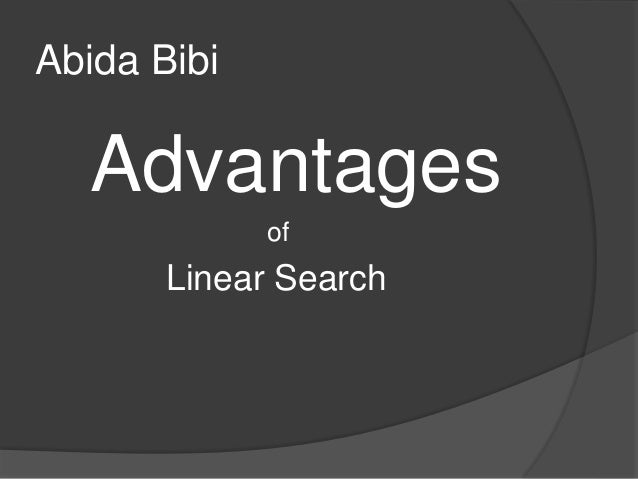 Data Structures and Algorithms Linear Search - Tutorials Point