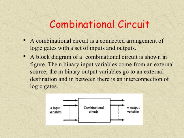 combinational logic combinational logic the outputs Essential combinational components introduction the most interesting digital devices are composed of combinational and sequential components in a.