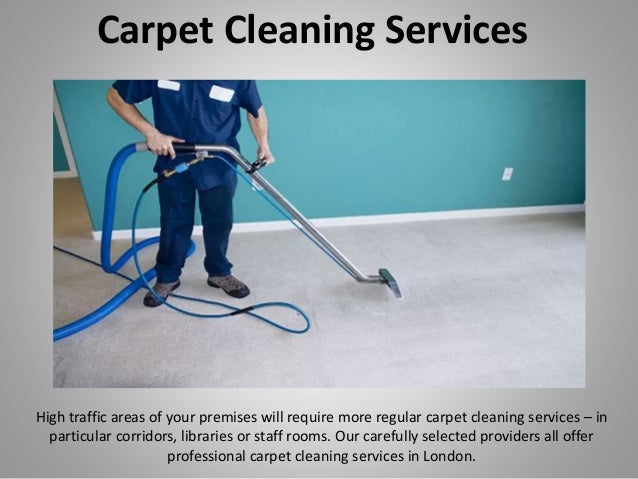 Carpet Cleaning Services High traffic areas of your premises will require more regular carpet cleaning services – in parti...