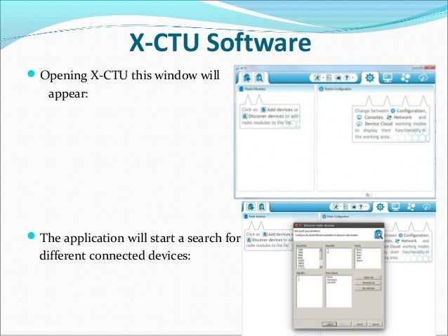 Downloading and installing xctu xbee / arduino compatible coding.