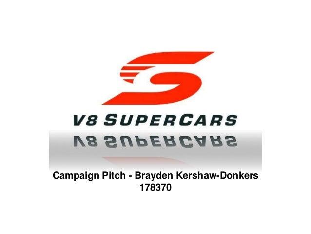 V8 Supercars Logo V8 Supercars Pitch - A...