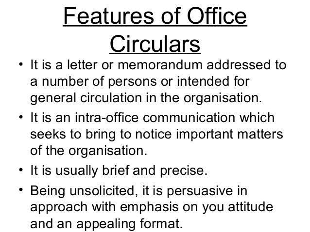 sample of office memorandum