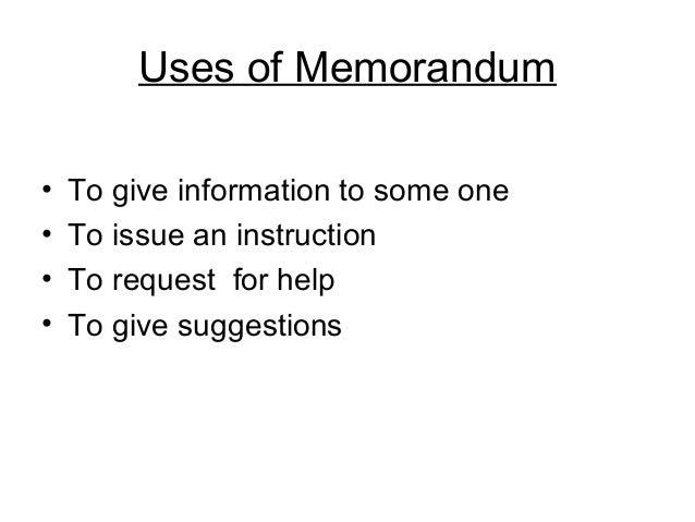 office memorandum