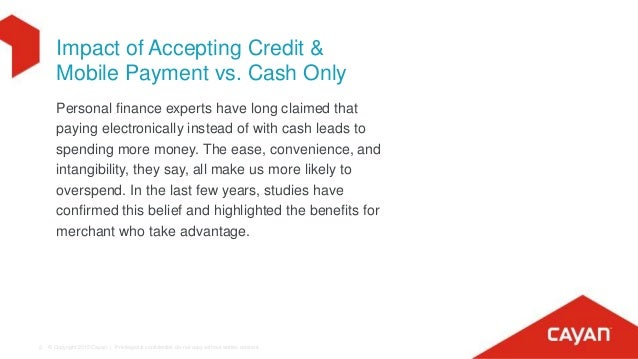 Impact of accepting credit cards at your business for Credit card acceptance for small business
