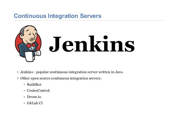 Managing Jenkins with Python Slide 3