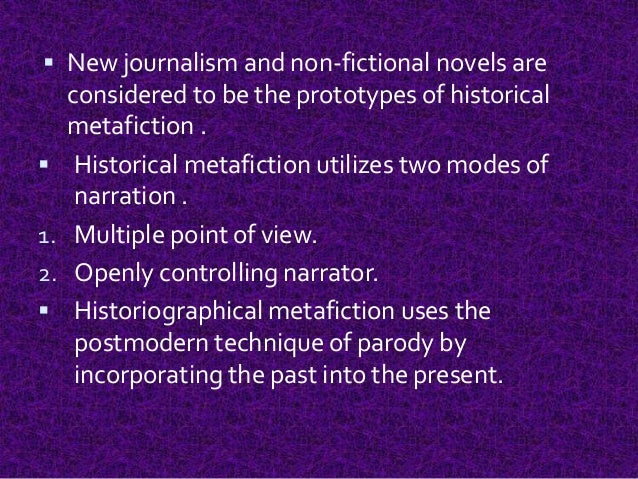 new journalism and creative non fiction The creative nonfiction literature 2 lecture series university of san carlos the creative nonfiction it used to be called personal journalism or literary journalism or new journalism or parajournalism.