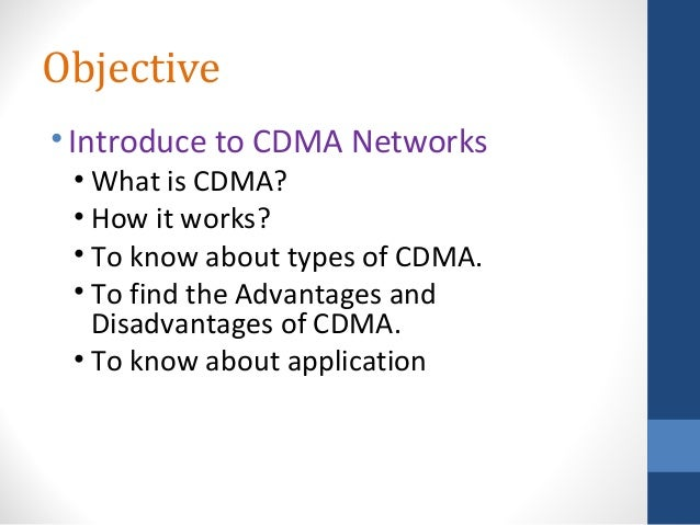 What is cdma?
