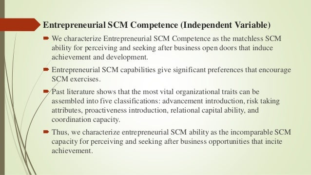 Entrepreneurial forms
