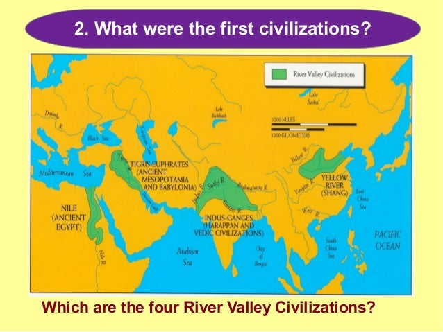 4 great river valley civilizations
