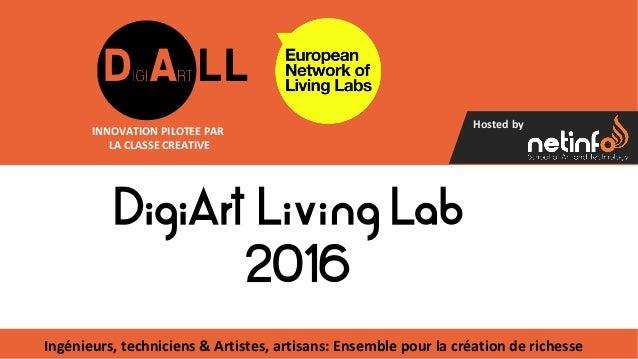 Hosted by Ingénieurs, techniciens & Artistes, artisans: Ensemble pour la création de richesse INNOVATION PILOTEE PAR LA CL...
