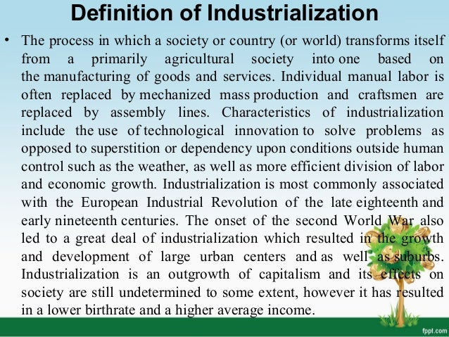 Industrialization in Bangladesh