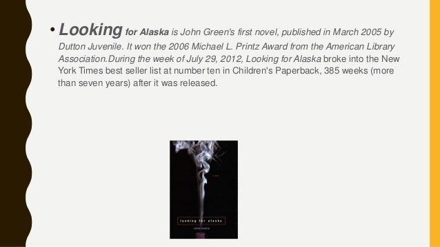 Looking For Alaska Lara: Looking For Alaska