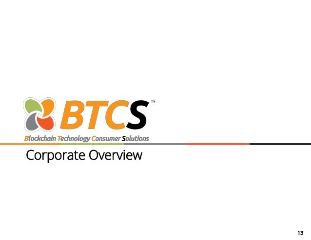 13 Corporate Overview
