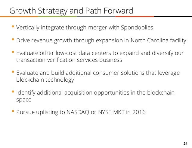 24 Growth Strategy and Path Forward • Vertically integrate through merger with Spondoolies • Drive revenue growth through ...
