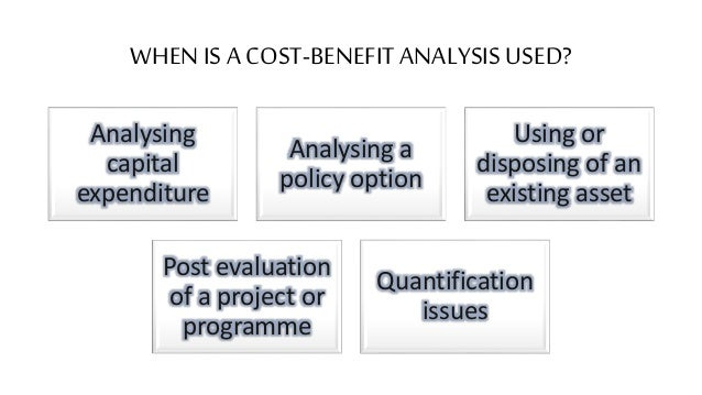the importance and benefits of the cost benefit analysis cba Jules dupuit, a french engineer and economist, introduced the concepts behind cba in the 1840s it became popular in the 1950s as a simple way of weighing up project costs and benefits, to determine whether to go ahead with a project as its name suggests, cost-benefit analysis involves adding up the benefits of a.