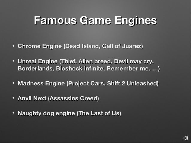 Introduction to Unity3D Game Engine