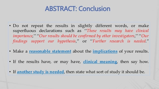 how to read the results section of a research paper