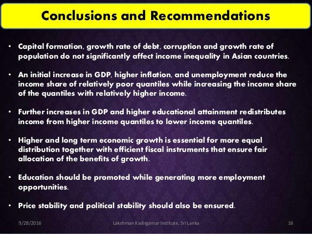 Macroeconomic analysis of sri lanka
