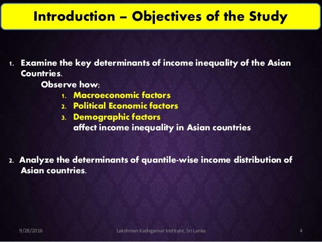 Determinants of income distribution inequality in Vietnam Essay Sample