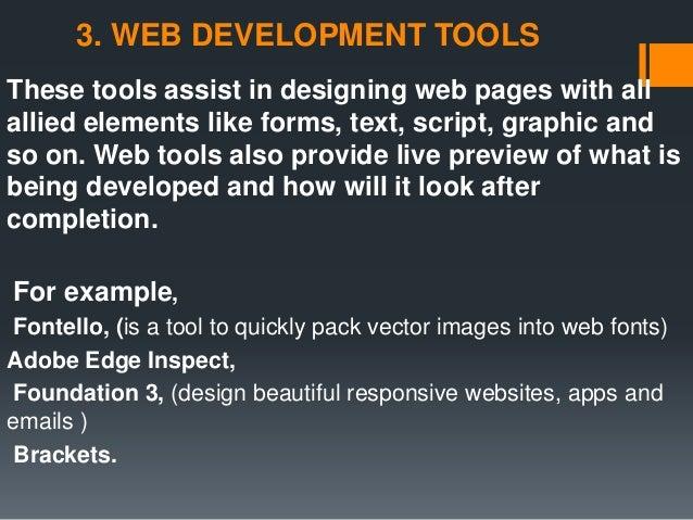 Software Engineering tools