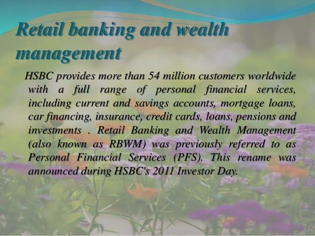 Wealth management case study finance