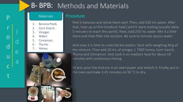 Biodegradable Materials, B-BPB
