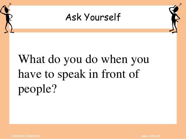 Classroom Presentation Steps Slide 2