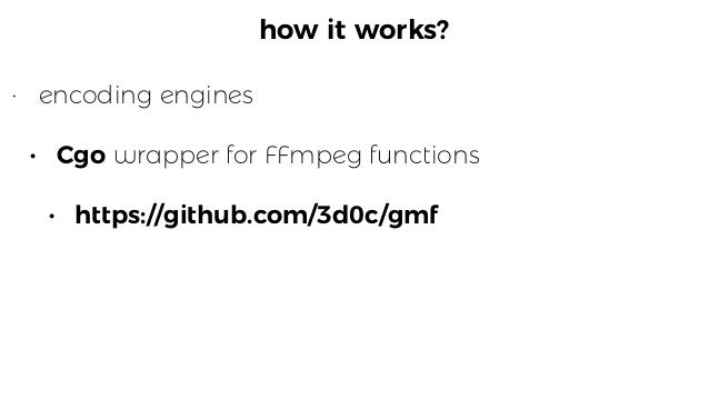 """how it works? package  segmenter   /*   #include  <stdio.h>   #include  """"libavformat/avformat.h""""   #include..."""