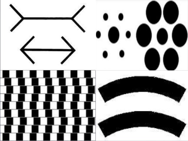 an analysis of perceptual illusions Auditory streaming refers to the perceptual organization of sound  did not elicit the octave illusion itself, which makes the interpretation of their.