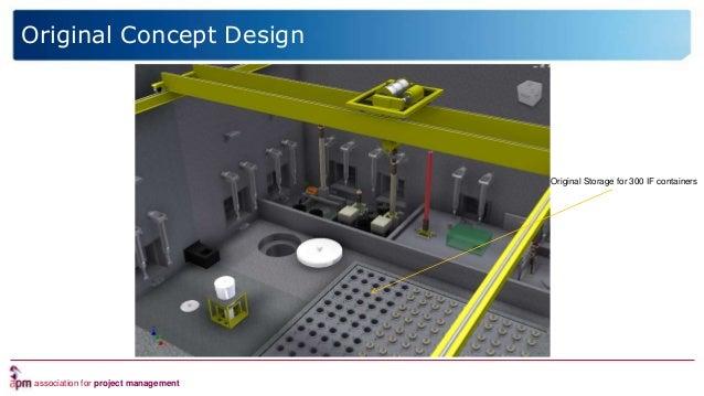 association for project management Original Concept Design Original Storage for 300 IF containers