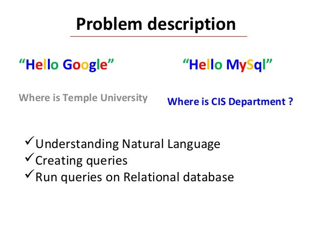 relational databases and queries Relational databases a relational database queries can be performed and reports generated, eg a list of books a customer has borrowed since joining the library.