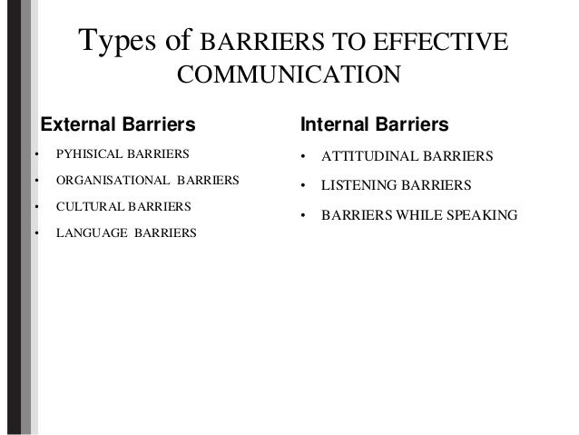 barriers to communication and solutions for barriers Barriers to every day communication sending solutions or avoiding the other person the barriers to communication listed above do not always have a negative.