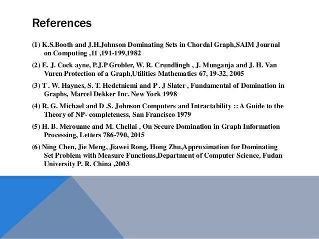 graph domination in Fundamental of