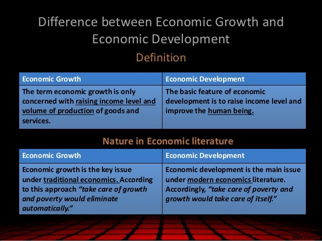difference in growth and development It has helped us to understand that crucial events during development of the child may result in functional  95 development = growth + maturation + learning.