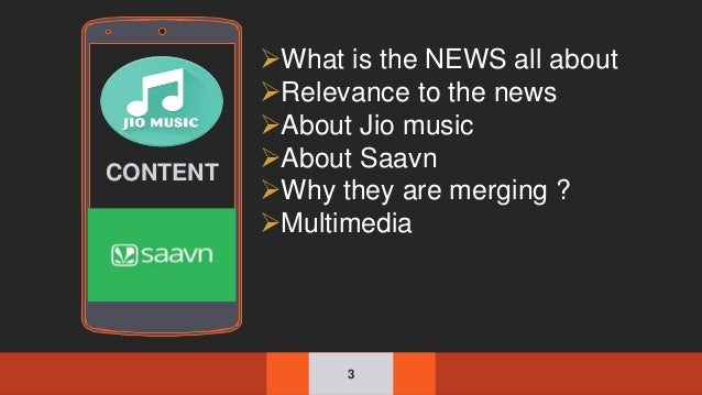 jio music to merge with saavn