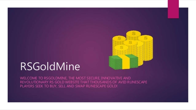 RSGoldMine – The World's Leading Platform to Buy & Sell Runescape Gold
