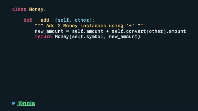 Elegant Solutions for Everyday Python Problems Pycon 2018