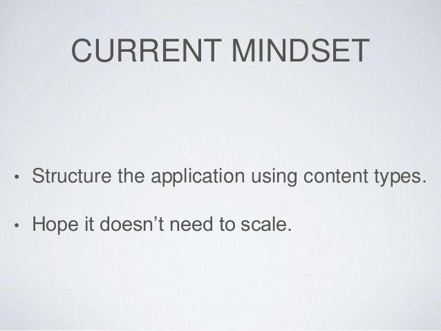 Performant applications in Plone Slide 2