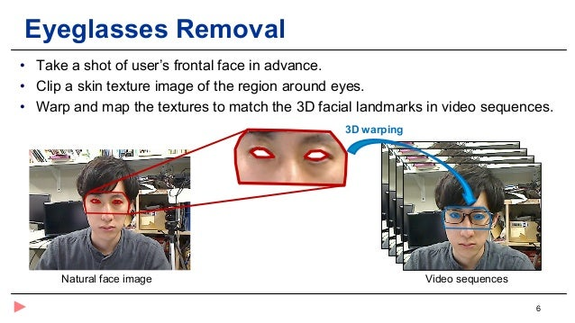 284f6c66c905 Automatic Eyeglasses Replacement for a 3D Virtual Try-on System (AH2019  Short Paper)