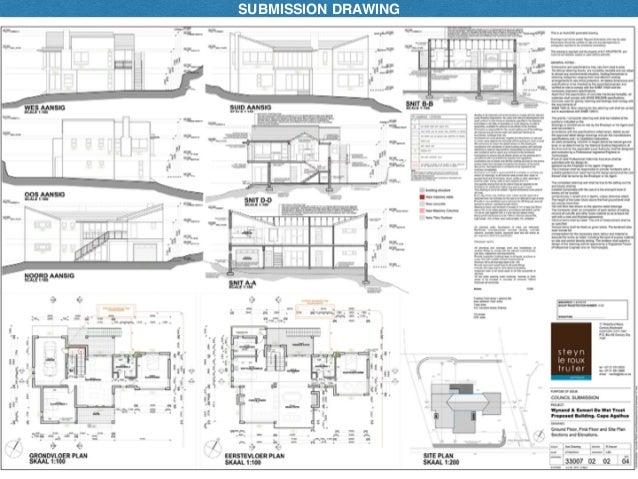 Architectural presentation drawings pdf.