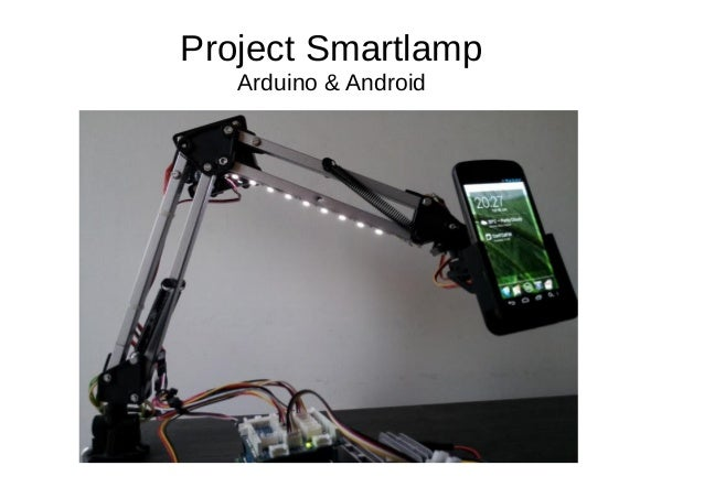 Project Smartlamp Arduino & Android